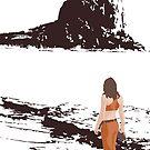 The Beach by Midgetcorrupter