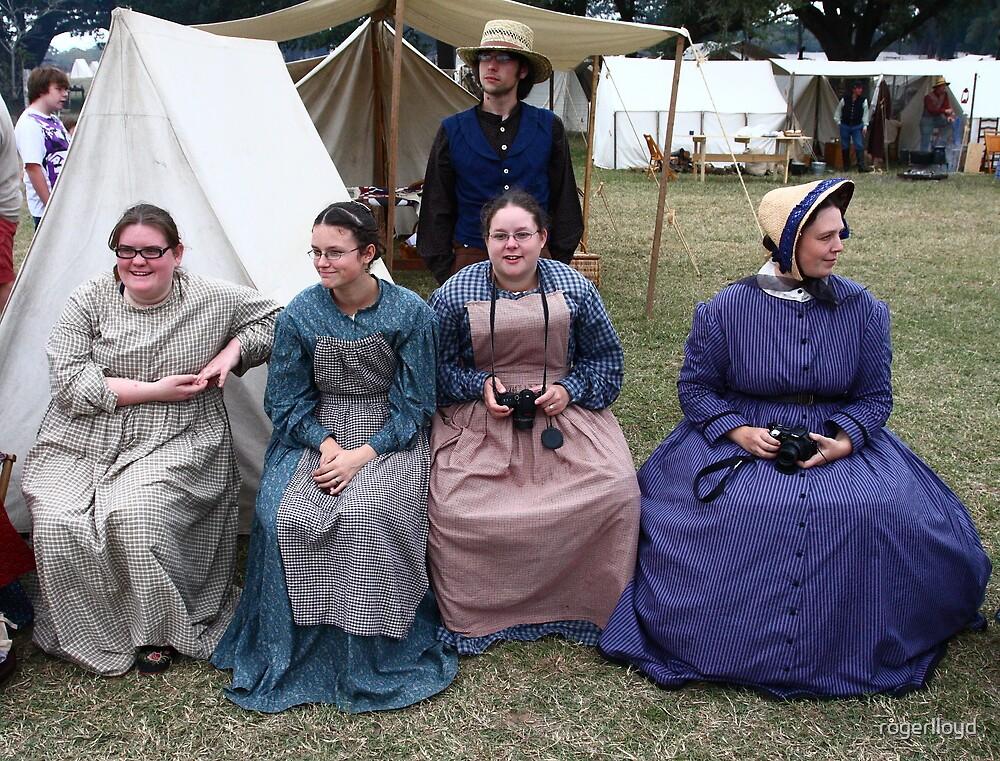 Civil War Ladies & Their SLR Cameras by rogerlloyd