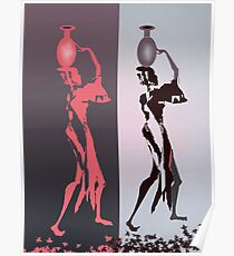 Women with jugs Poster