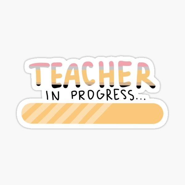 Teacher Sticker Colorful Teacher Sticker Elementary Teacher Sticker Teacher Aesthetic Sticker Waterproof Sticker