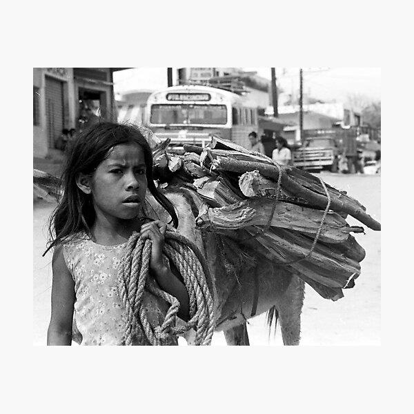 Main Street, Puerto Escondido, Mexico Photographic Print