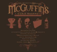 McGuffin's Curio Shoppe - (for Dark Shirts)
