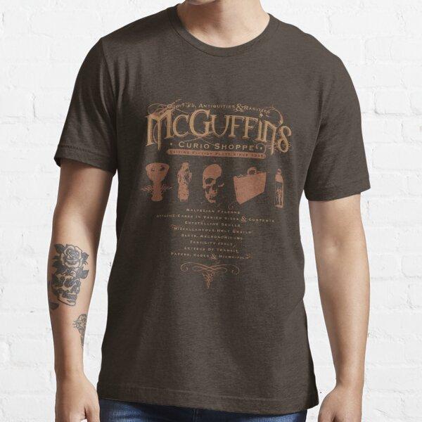 McGuffin's Curio Shoppe - (for Dark Shirts) Essential T-Shirt