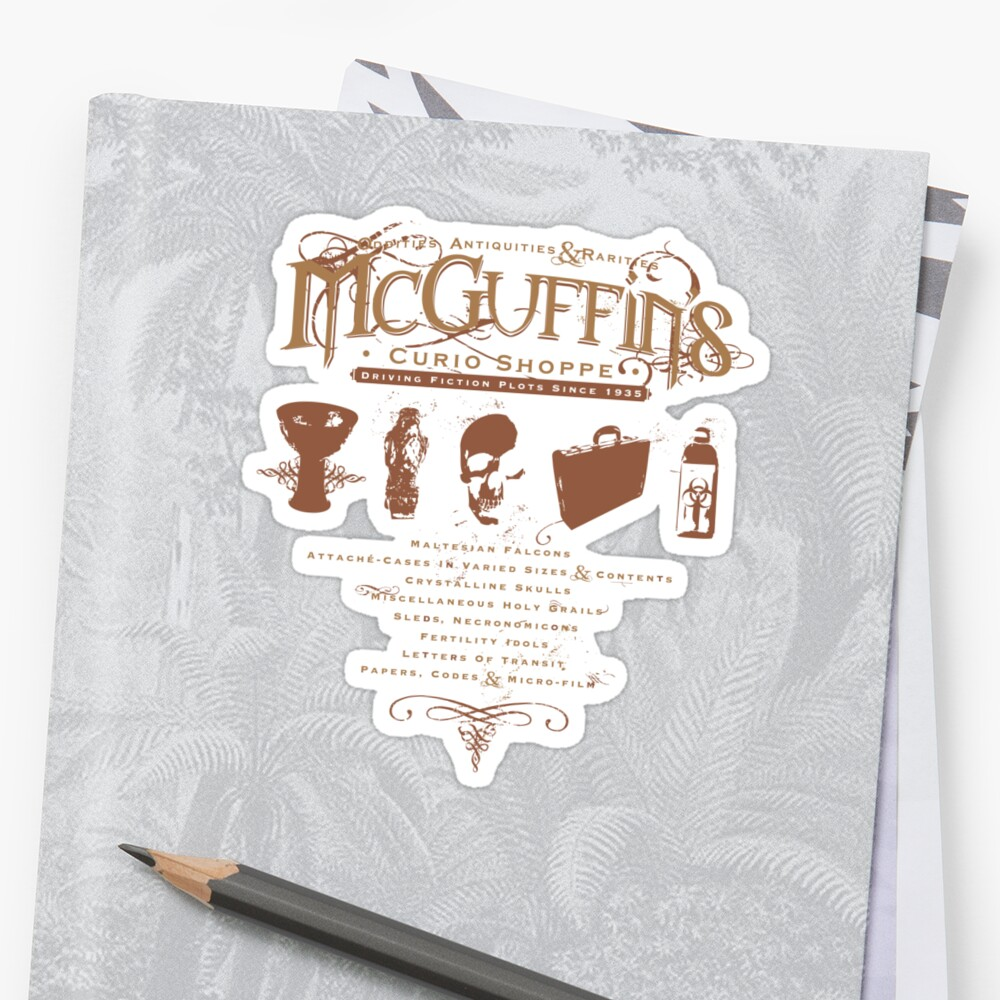 McGuffin's Curio Shoppe - (for Dark Shirts) by Captain RibMan