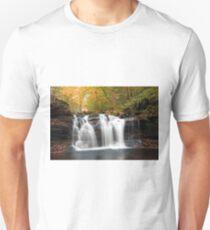 Seasons Changing At Wyandot Falls T-Shirt