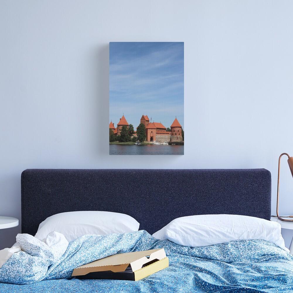 Trakai Castle, Lithuania Canvas Print