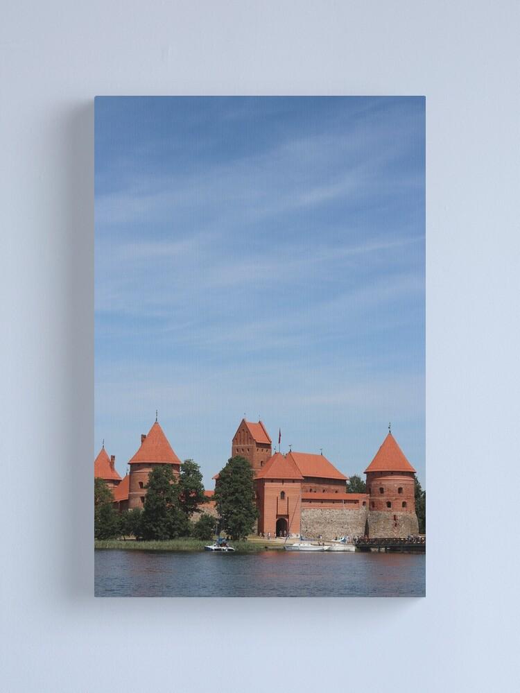 Alternate view of Trakai Castle, Lithuania Canvas Print