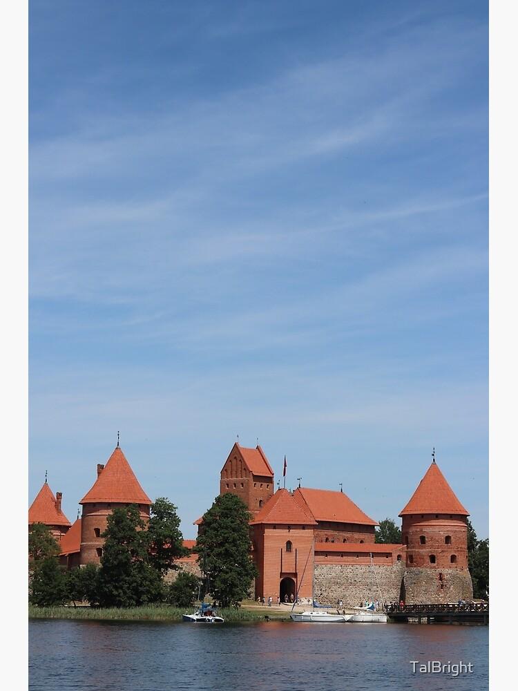 Trakai Castle, Lithuania by TalBright