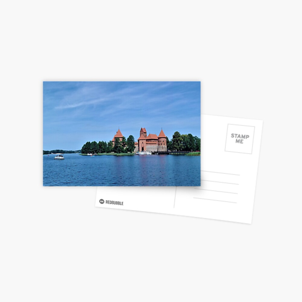 Trakai Castle Postcard