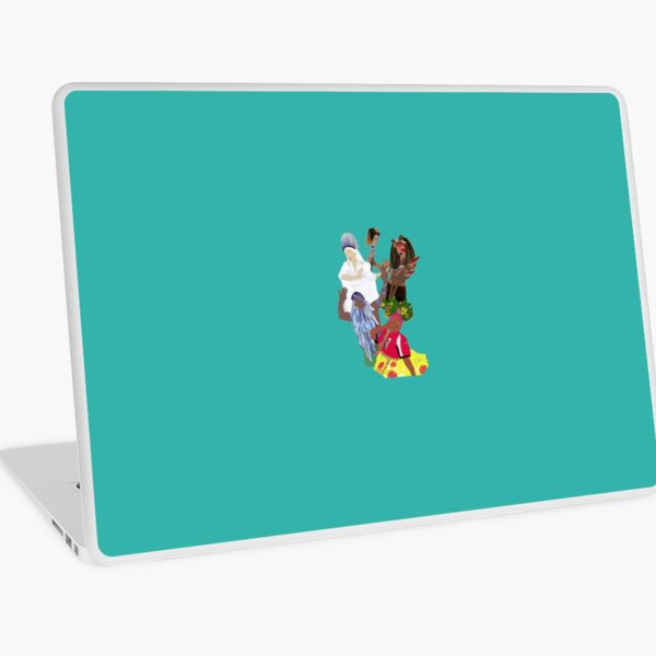 We Dance to the Music of The Gods  Laptop Skin
