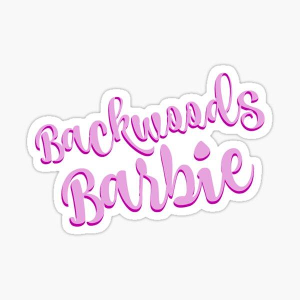 "Dolly Parton ""Backwoods Barbie"" Sticker Sticker"