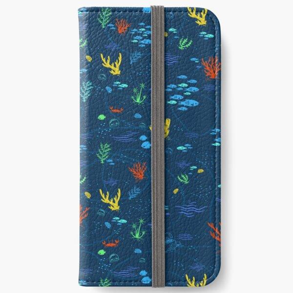 Deep Sea Rainbow iPhone Wallet