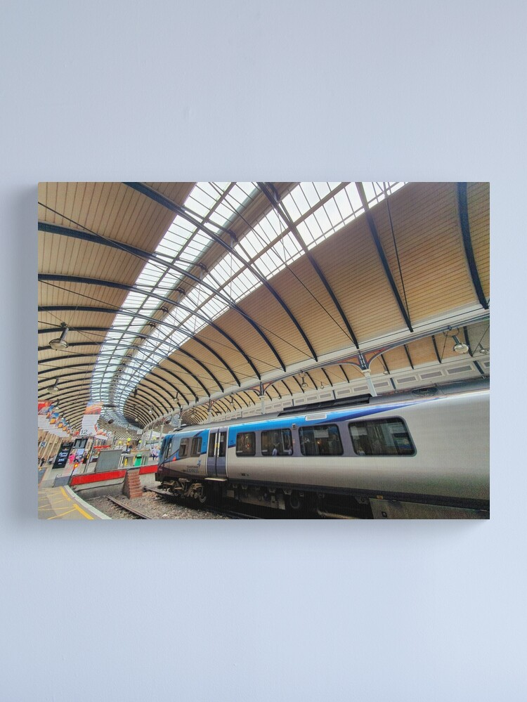 Alternate view of The Station Canvas Print