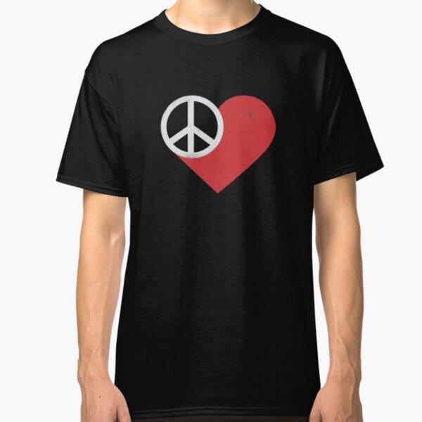 Peace & Love Classic T-Shirt
