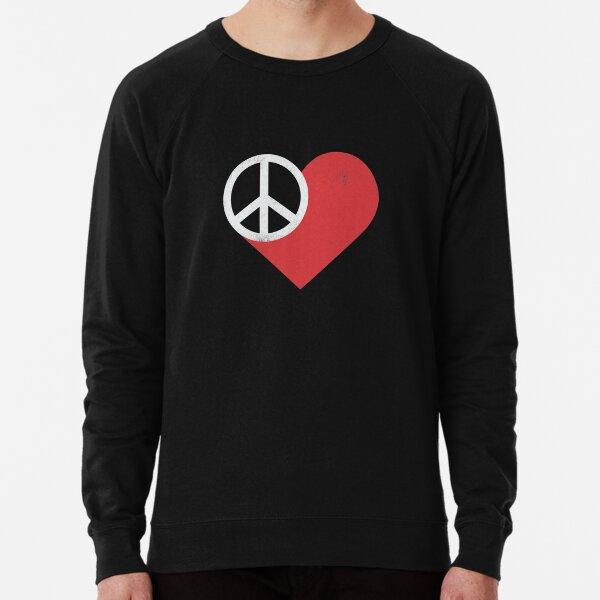 Peace & Love Lightweight Sweatshirt