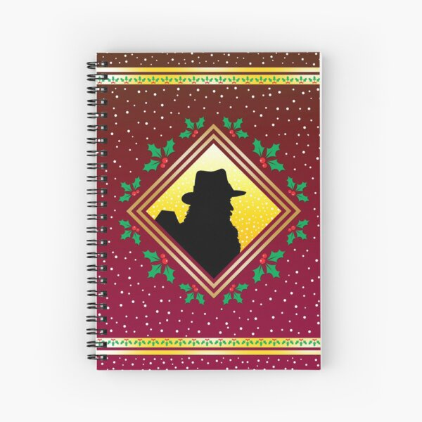 Cole Hawlings Robin Red Fresco Spiral Notebook