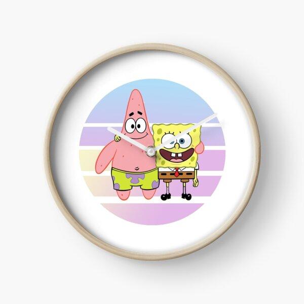 Spongebob and Patrick BFFS Clock
