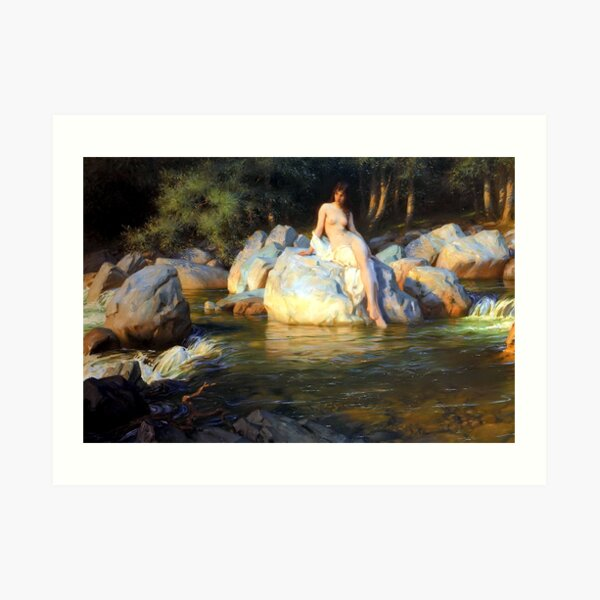 The Kelpie - Herbert James Draper Art Print