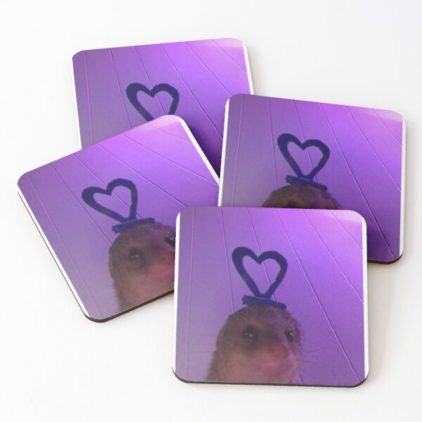 Heart 4 a Head Coasters (Set of 4)