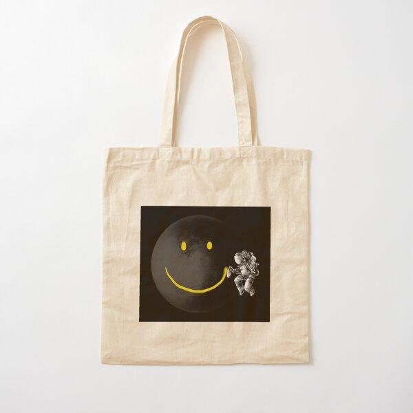 Make a Smile Cotton Tote Bag