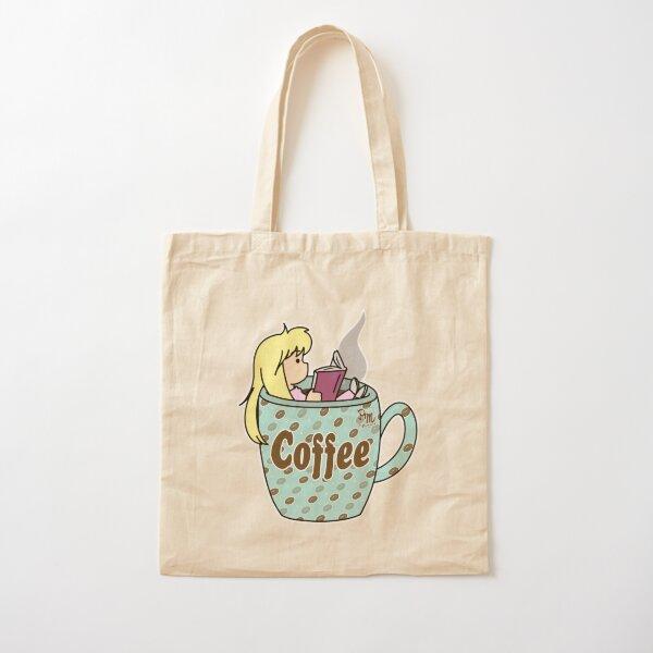 Coffee break Cotton Tote Bag