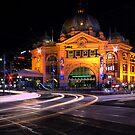Flinders' Street Station, Melbourne by David James