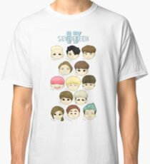 SEVENTEEN Chibi Heads Classic T-Shirt