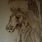 Lyle Lovetts horse by lynnieB