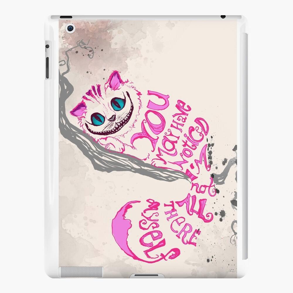 Ich bin nicht alles da - Cheshire Cat iPad-Hüllen & Klebefolien