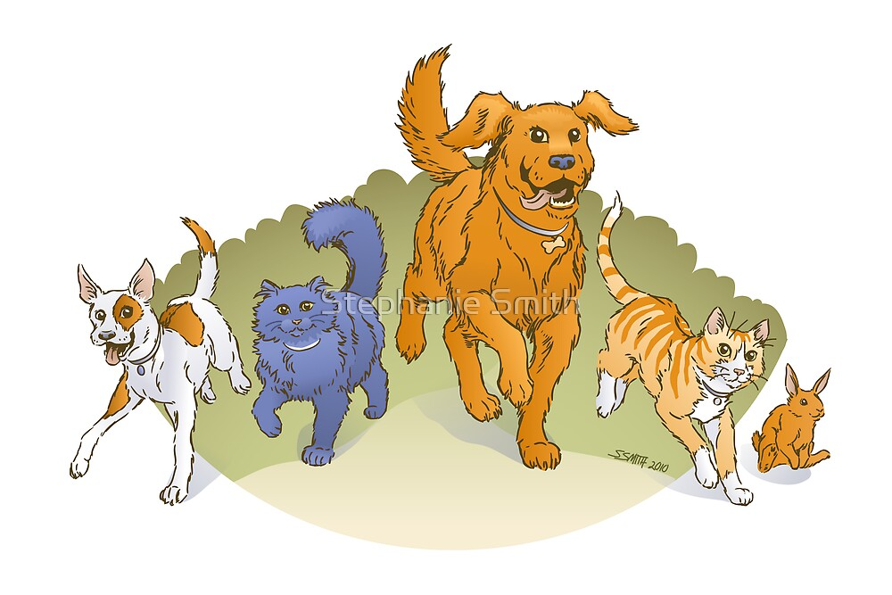 Pets on the March by Stephanie Smith