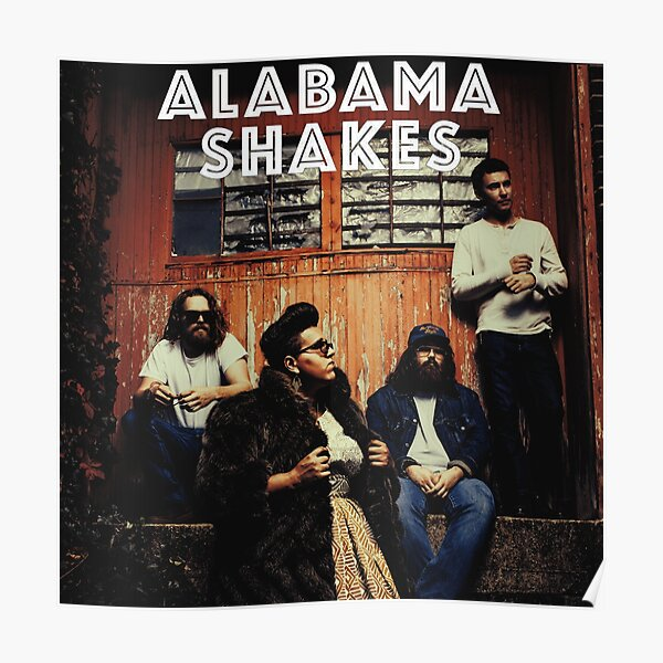alabama shakes best personnel  Poster