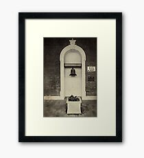 Newcastle Railway Station Revisited Framed Print