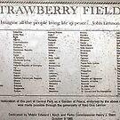 Strawberry Fields - Central Park, Manhattan by Bev Pascoe