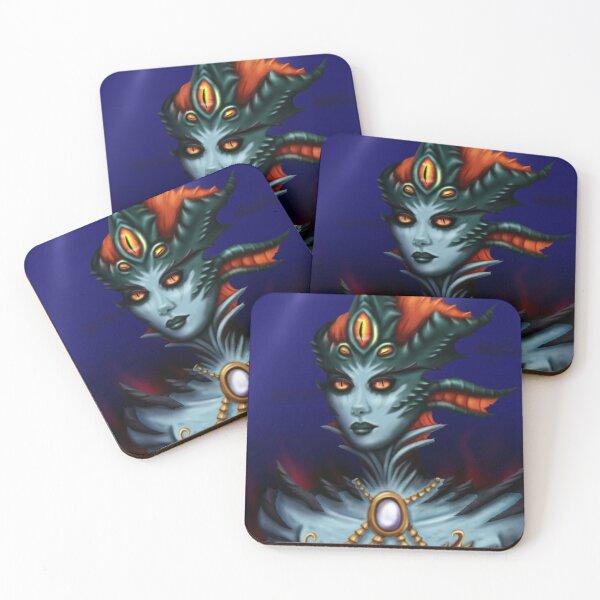 Queen Azshara Coasters (Set of 4)