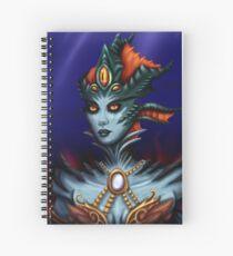 Queen Azshara Spiral Notebook