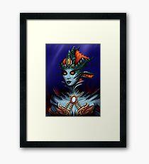 Queen Azshara Framed Print