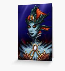 Queen Azshara Greeting Card
