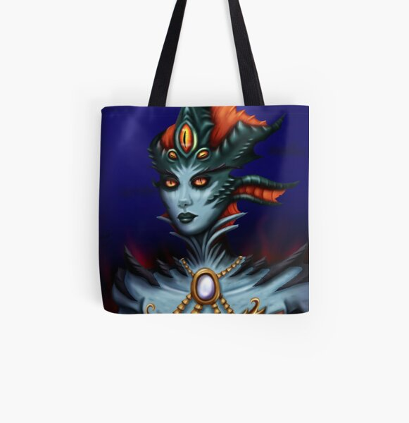 Queen Azshara All Over Print Tote Bag