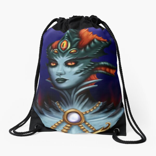 Queen Azshara Drawstring Bag