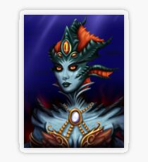 Queen Azshara Transparent Sticker