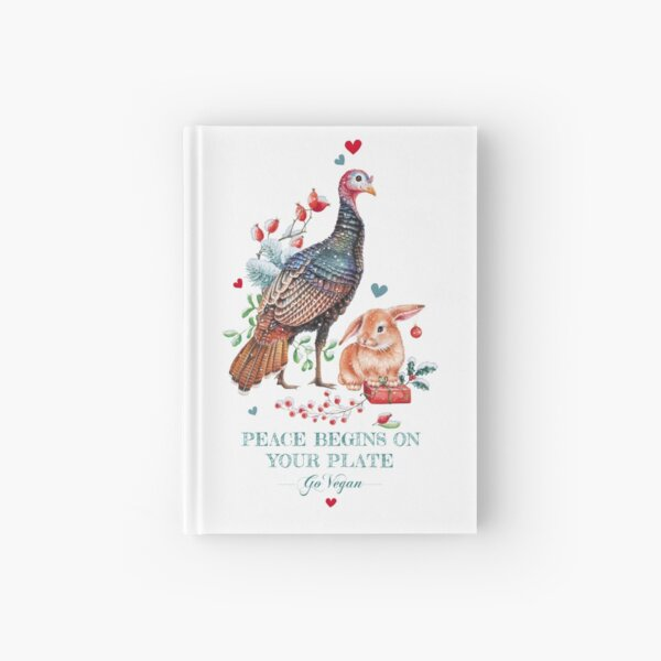 Peaceful Christmas by Maria Tiqwah Hardcover Journal