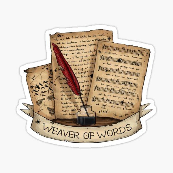 Bard - Weaver of Words Sticker