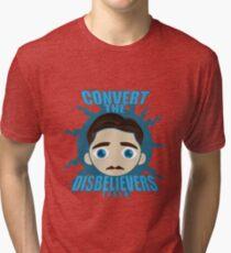 TESLA HEAD Tri-blend T-Shirt