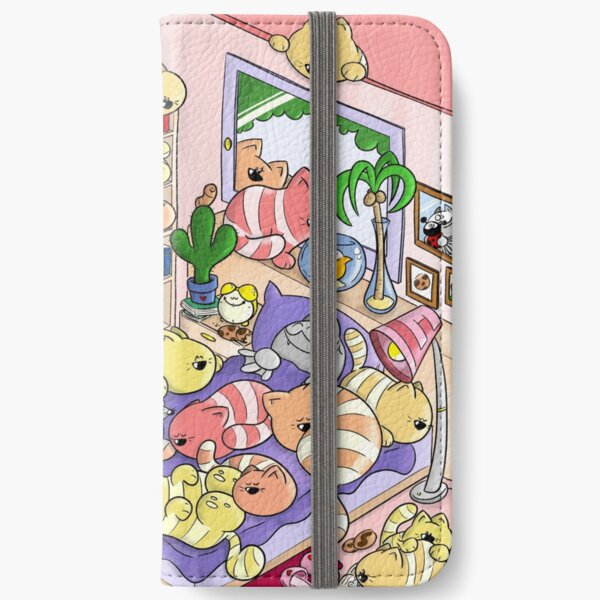 Cat Days - Fred and his Friends iPhone Flip-Case