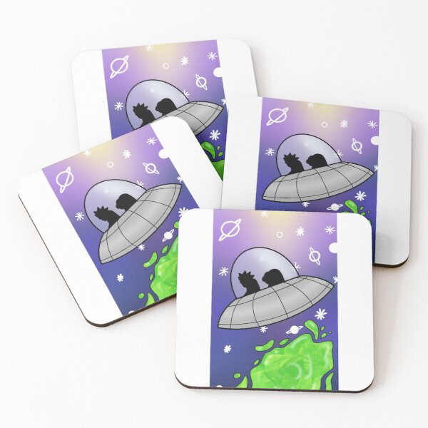 Galaxy travels  Coasters (Set of 4)