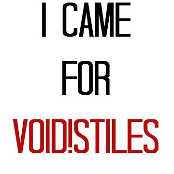 Void!Stiles by Clarityandsimpl