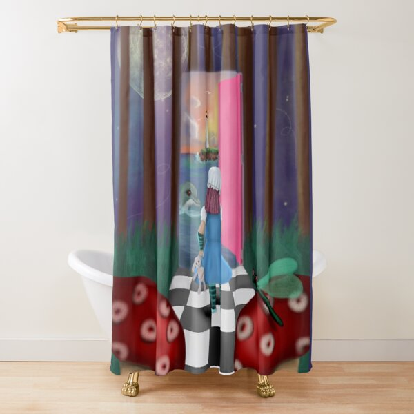 Abyssal Ingress Shower Curtain