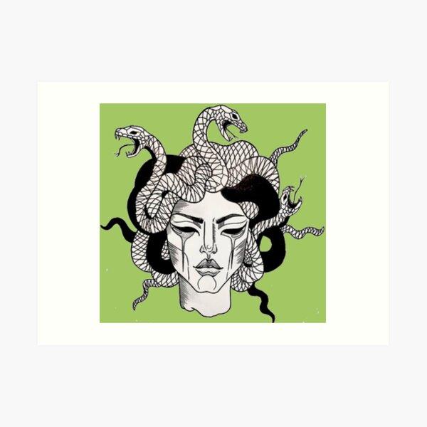 Meduse Kunstdruck
