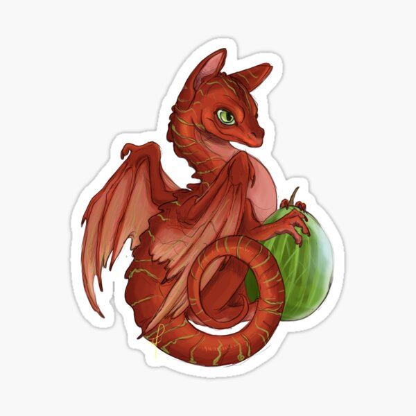 Gooseberry Dragon Sticker