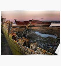 Sunset on the Wrecks. Poster